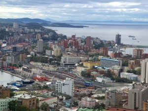 A view of Vladivostok. Picture by Joshua Solomon.