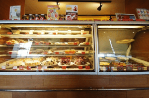 In addition to more substantial dishes, Coffee House also offers a number of cakes, pies, and ice creams.