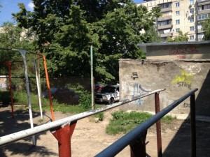 Adult Playgrounds - Soviet-style workout facilities