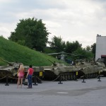Exposition of Fighting Vehicles and weaponry