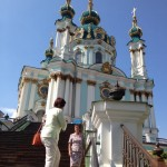 The real Saint Andrew's in Kyiv