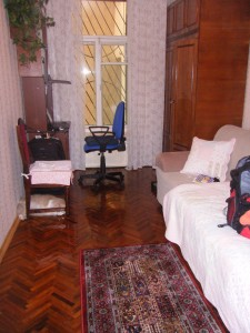My homestay room in St. Petersburg
