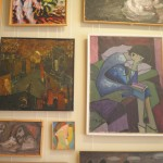 A collection of paintings from the Leningrad collection