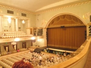 The main stage and orchestra pit