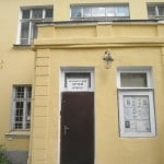 The outside entrance to the Petersburg Museum of Dolls.