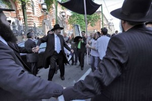 Jewish culture is reviving across Russia. The celebration pictured happened in St. Petersburg, Russia in 2011. Read more from the St. Petersburg Times.http://sptimes.ru/index.php?action_id=2&story_id=33665