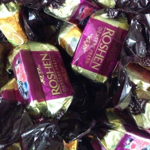 All Roshen, all the time.