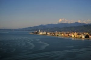 Batumi, Georgia - You can't go wrong with all that coastline.