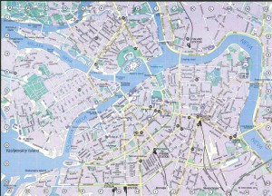 Saint Petersburg Map