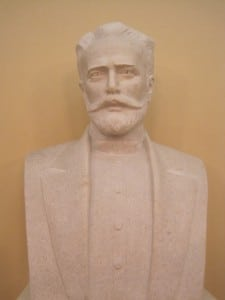 Bust of Tchaikovsky at the concert hall