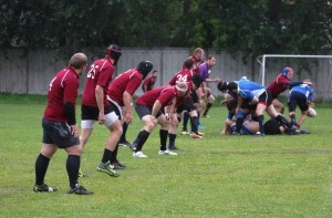 Playing rugby