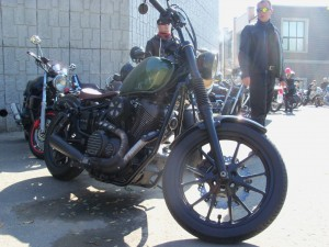 One of the slicker bikes on the lot