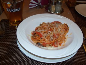Nice Spaghetti with Vegetables