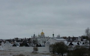 Suzdal Landscape Including Intercession Cathedral