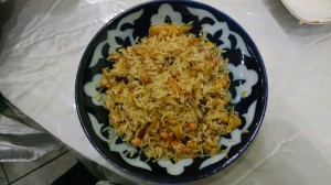 Meatless Plov