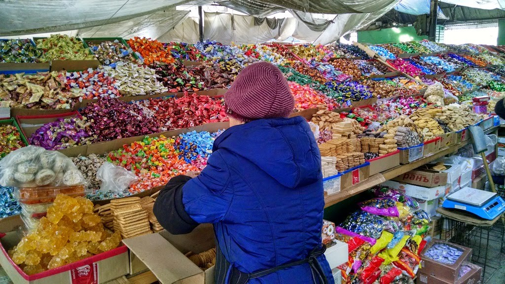 Candy and Cookies at Osh Bazaar