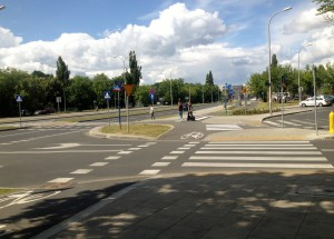plenty of Warsaw bike lanes!
