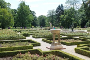 A sample of Wilanow's gardens