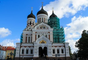 Alexander Nevsky Cathedral on Toompea