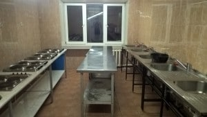 One of the kitchens on our hallway.