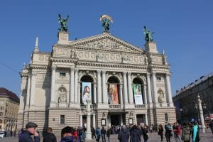 The Lviv National Theater of Opera and Ballet