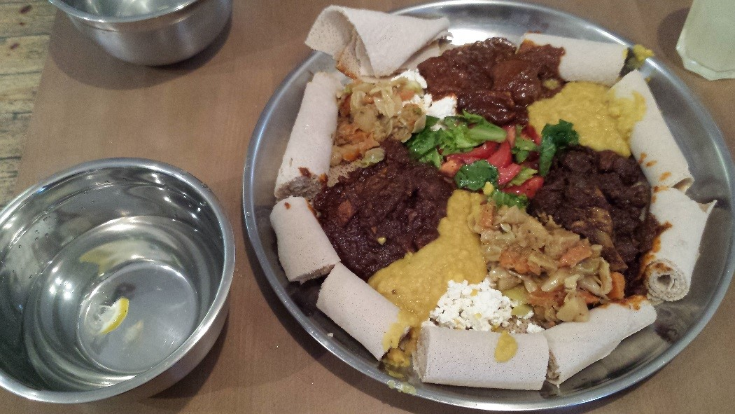 Combo for 2 at Abyssinia - Ethiopian Cuisine in Warsaw
