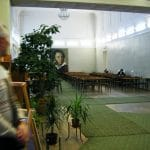 Inside the Pushkin Library (from the novel).