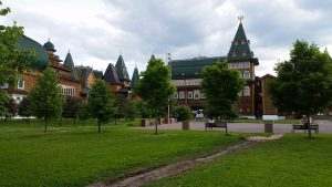 Wooden Palace of Tsar Alexis I in Kolomenskoye Park