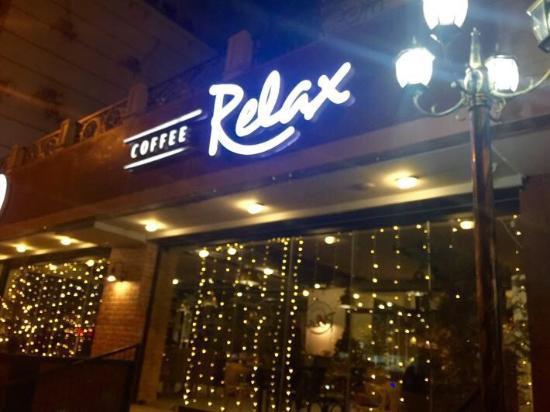 Relax Coffee entrance