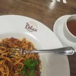 Pasta at Relax Coffee