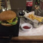 Burger and Fries - homesick food at Relax Coffee