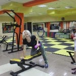 Friendly folks working out at Fitness House