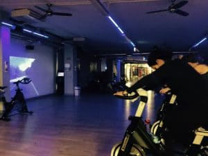 Cycling class at Jatomi.