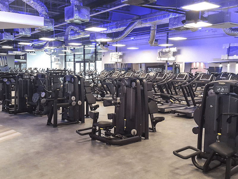 CityFit's workout machines.