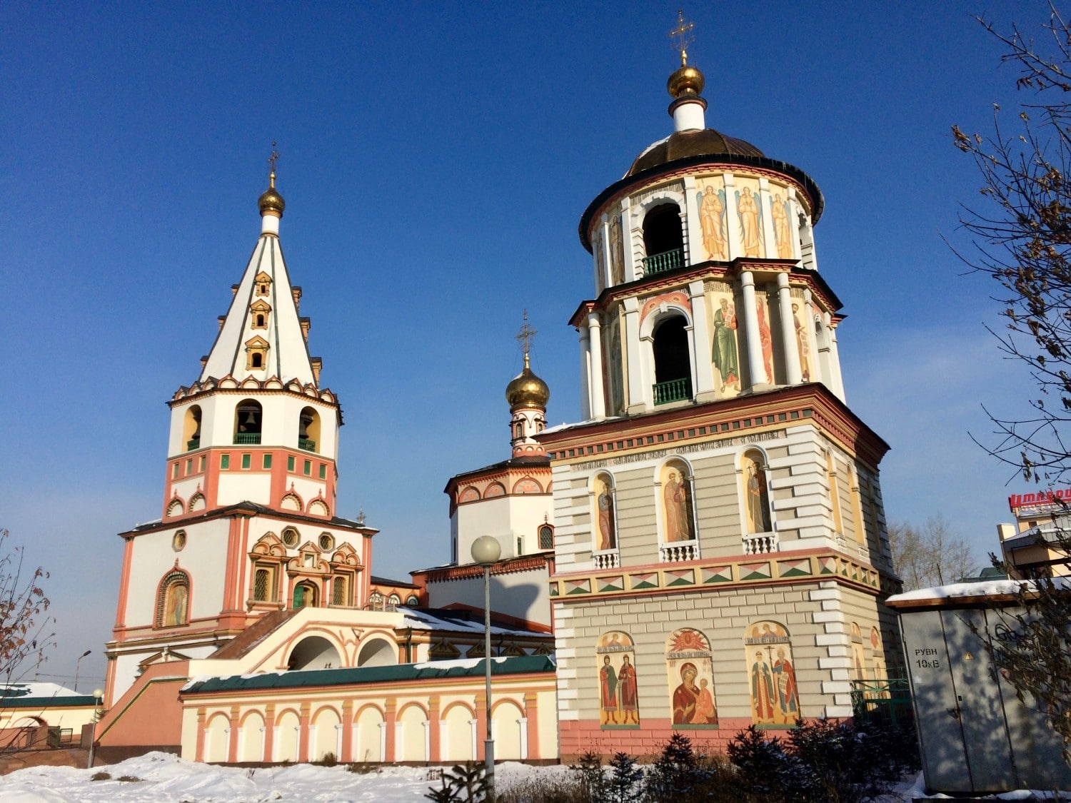 Irkutsk church