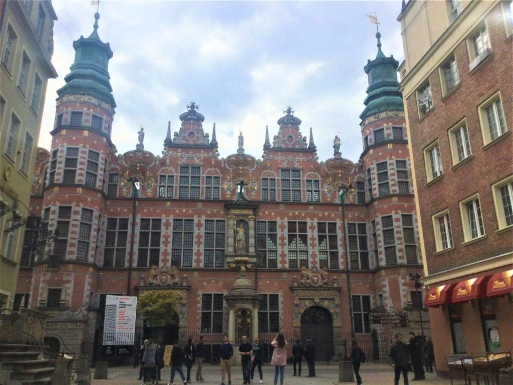 The Grand Arsenal in Gdansk.
