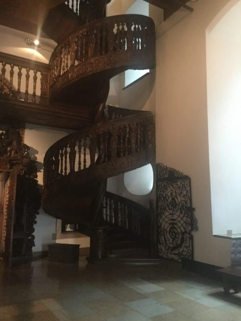The stairs in Gdansk's main town hall